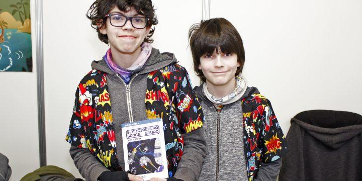Un alumne d'Estalmat al Saló del Còmic de Barcelona