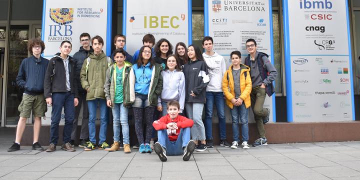 Visita al Institut de Bioenginyeria de Catalunya