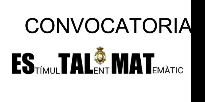 Convocatòria ESTALMAT 2019-2021