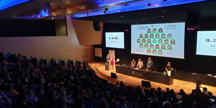 Acte de celebració de les 15 promocions d'Estalmat-Catalunya – cloenda del curs 2018-2019
